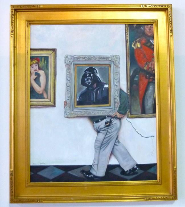 Darth Painting