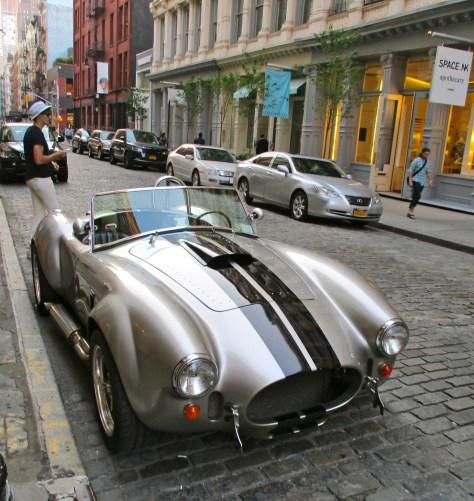Silver AC Cobra