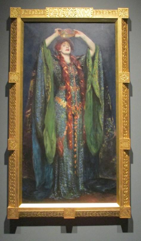 Shakespearean Actor Ellen Terry As Lady Macbeth 1889