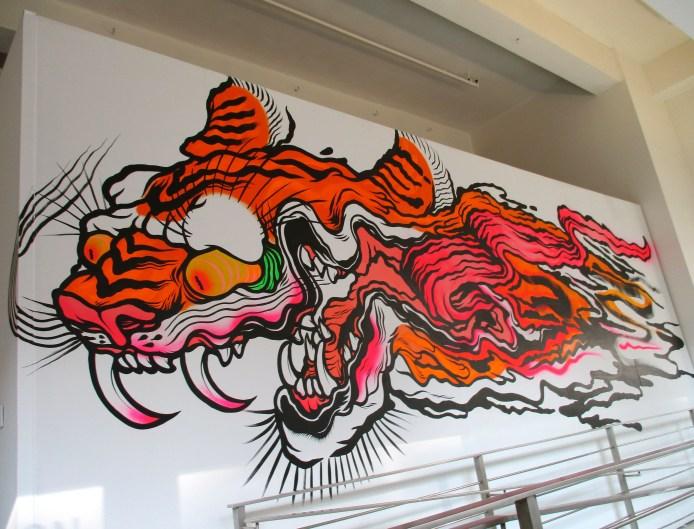 Boy Kong Mural