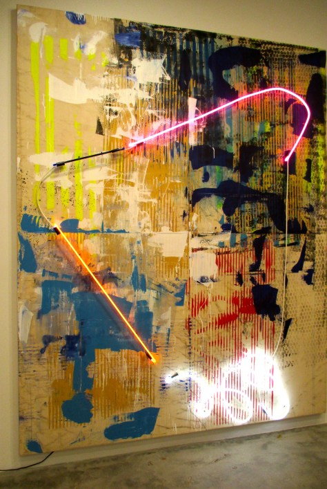 Abstract with Neon