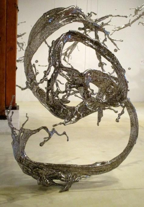 Sculpture by Zheng Lu Detail