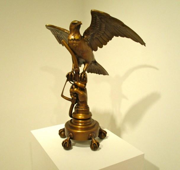 Eagle on Gas Pump