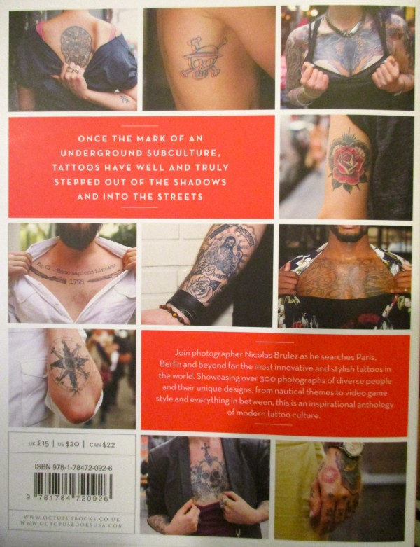 Tattoo Street Style Back Cover