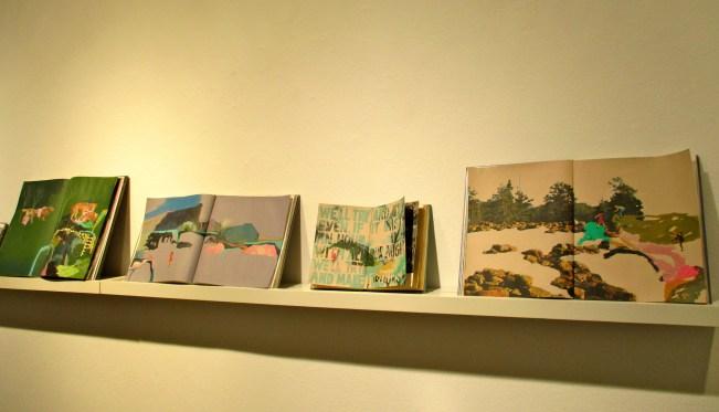 Paintings on Books