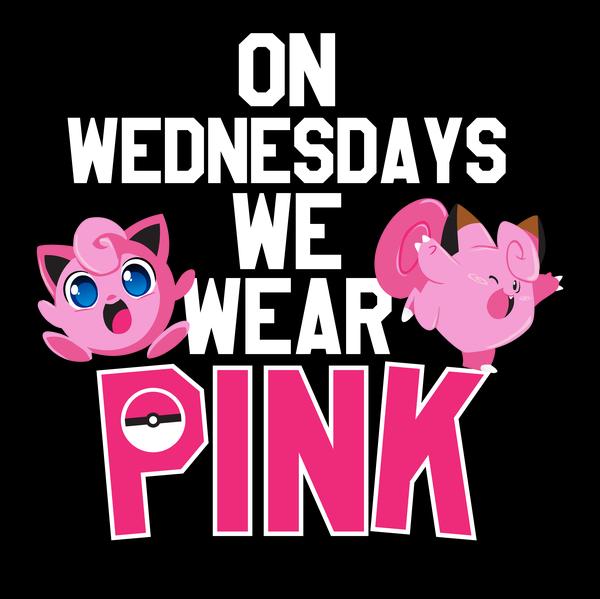 Wear Pink Wednesdays