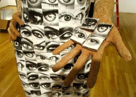 Eyeball Dress Detail