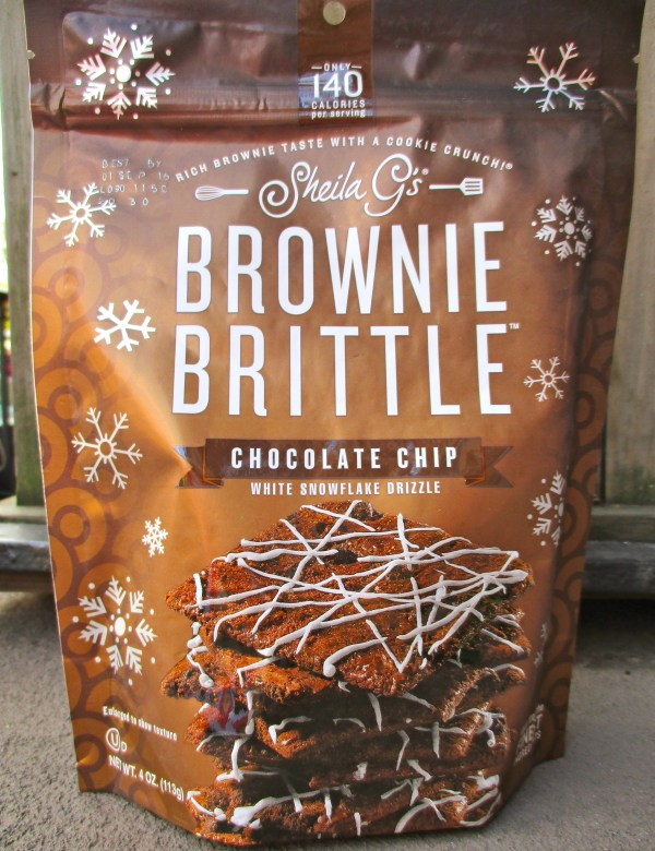 Chocolate Chip Brownie Brittle Drizzle