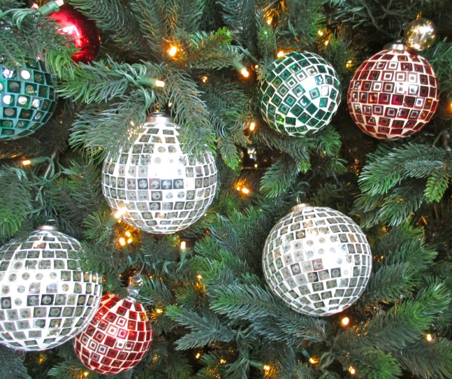 Mirrorball Ornaments 1