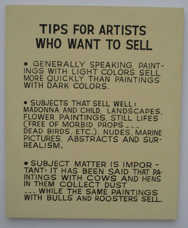 Tips for Artists