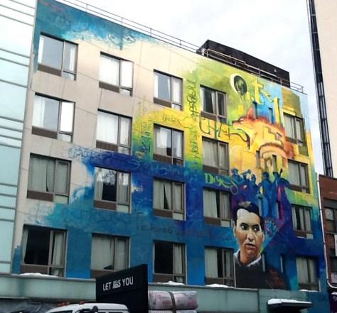 Caesar Chavez Mural