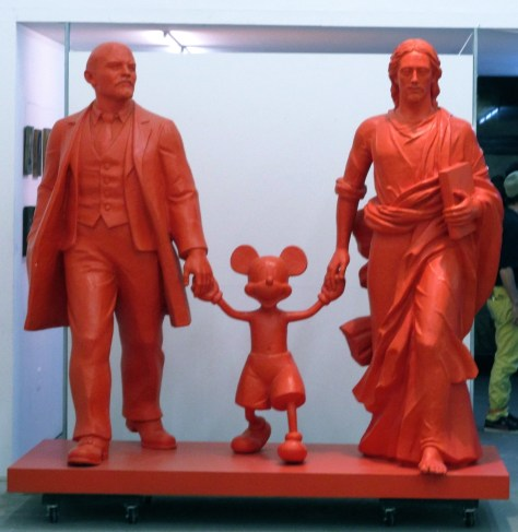 Lenin Mickey Jesus