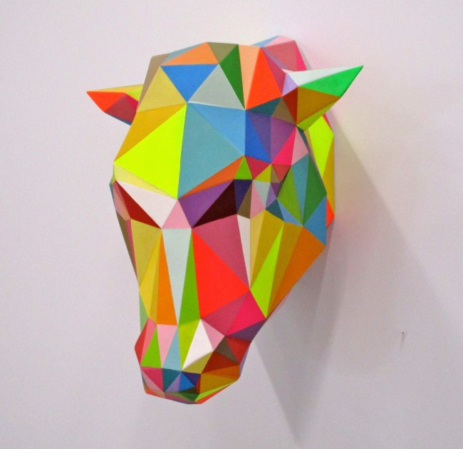 Cow By Okuda