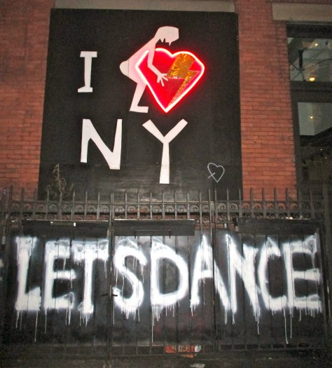 Let's Dance Graffiti