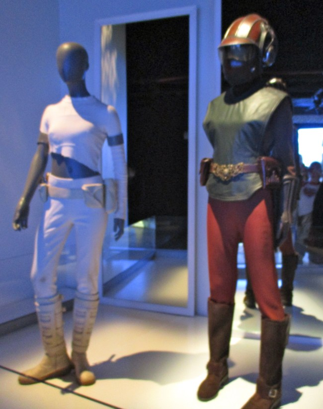 Padme Geonosis Arena Costume and Naboo Starfighter Pilot