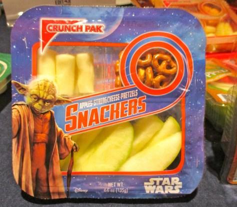 Crunch Pak Star Wars Packaging