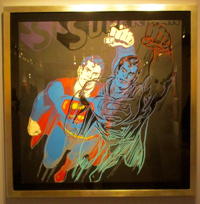 Superman By Andy Warhol