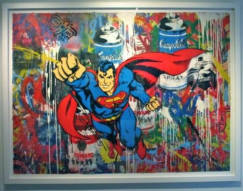 Superman By Mr Brainwash