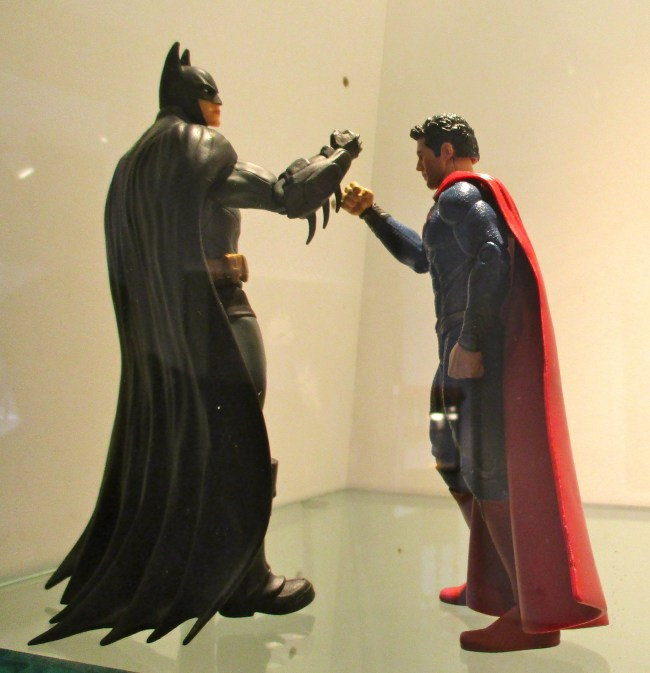Batman and Superman Action Figures
