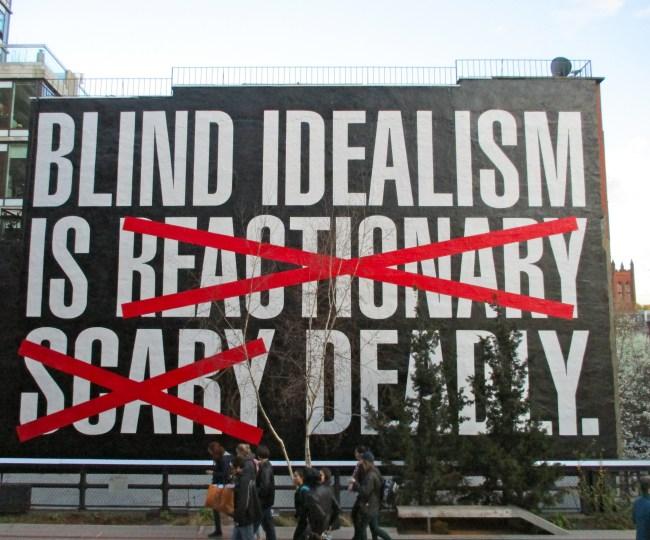 Blind Idealism Mural