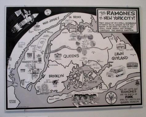 Ramones Map