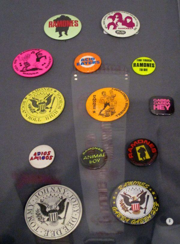 Ramones Badges