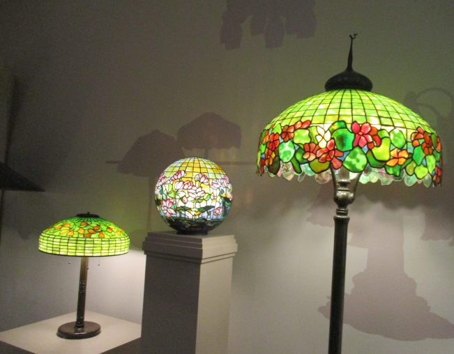 Tiffany Trio of Lamps