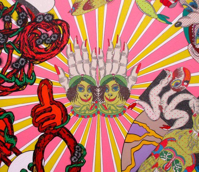 Detail from Dream Furor Colligendi, 2014