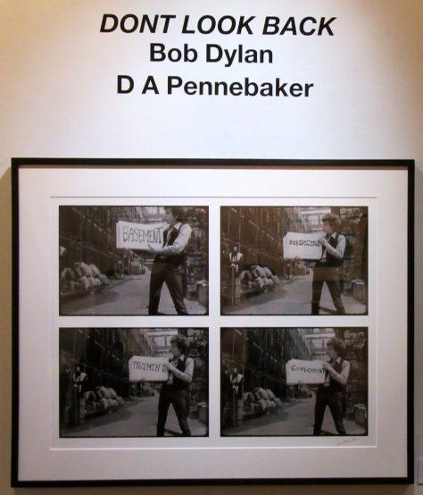 Bob Dylan Exhibit Signage