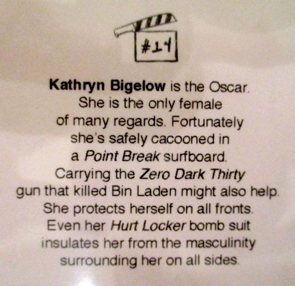 Kathryn Bigelow Trading Card