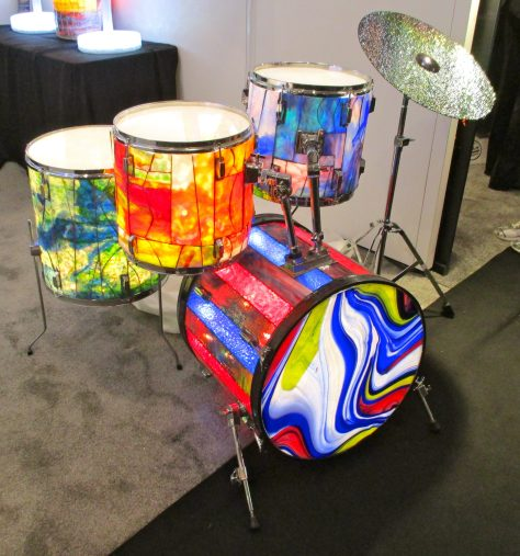 Stained Glass Drumkit