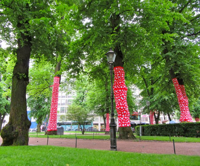 Ascension of Polka Dots on the Trees