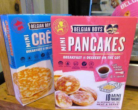 Belgian Boys Mini Pancakes