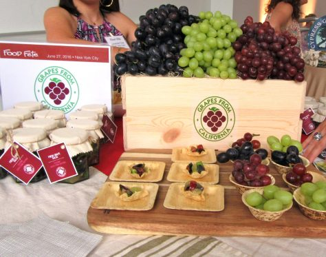Grapes from California Display