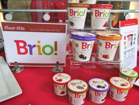 Brio Ice Cream Display