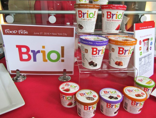 Brio Ice Cream Display