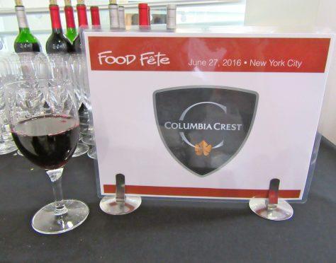 Columbia Crest Wine Signage