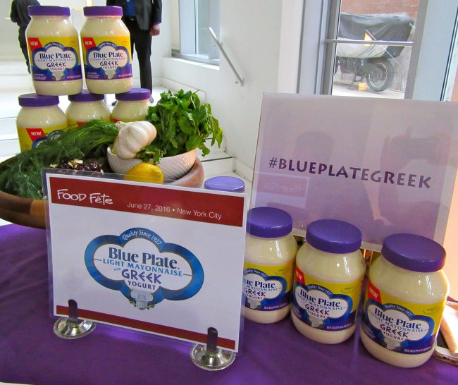 Blue Plate Greek Yogurt Mayonnaise