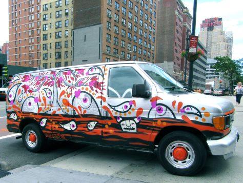 Urbanimal Graffiti Van 2