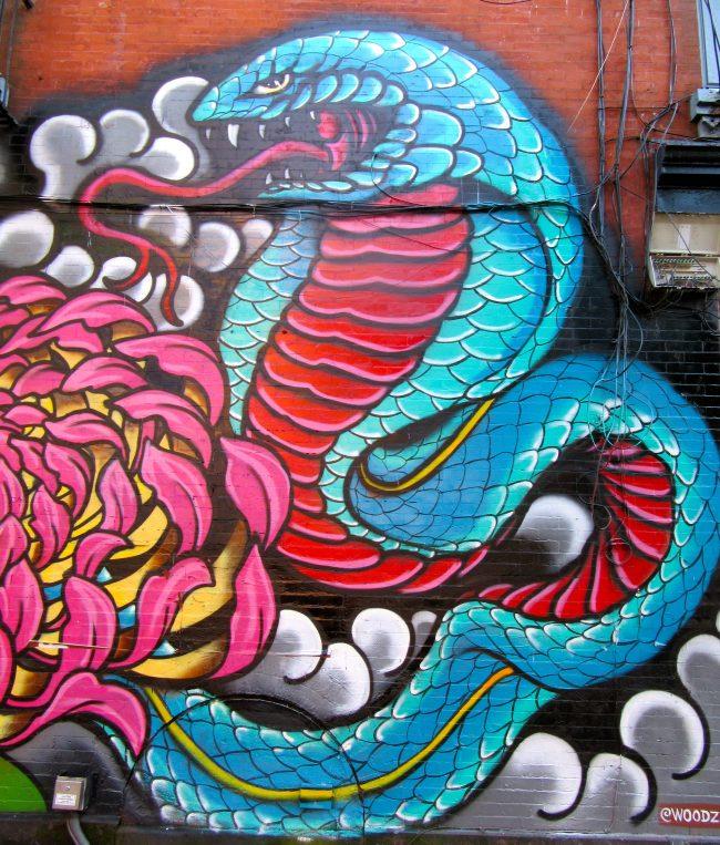 Cobra Mural