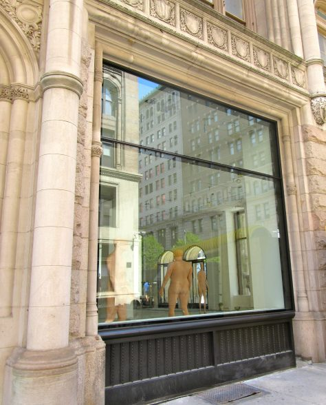 Male Manequinns Store Front