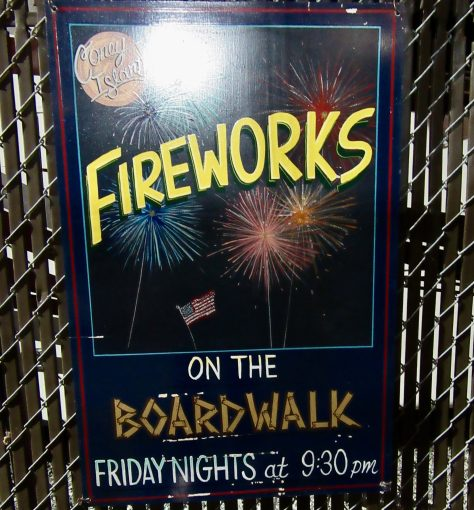 Coney Island Summer Friday Fireworks