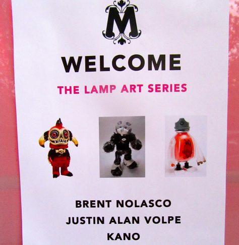 Art Lamp Event Signage