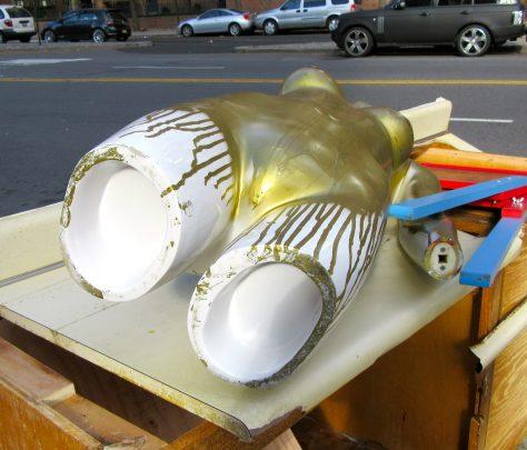 Gold Mannequin Torso Upshot