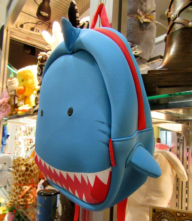 Shark Attack Backpack