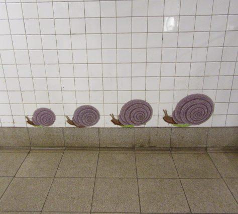 Snails Tile Mosaic