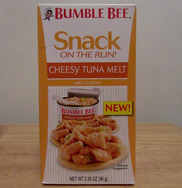 Cheesy Tuna Melt Snack