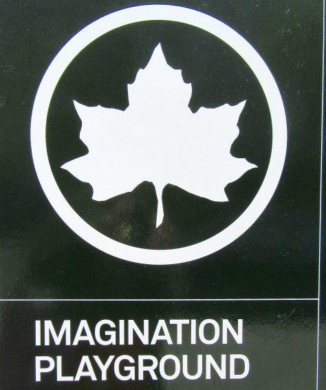 Imagination Playground Signage