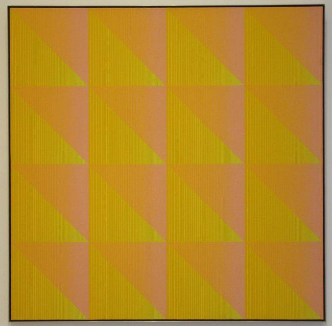 Yellow and Orange Triangles