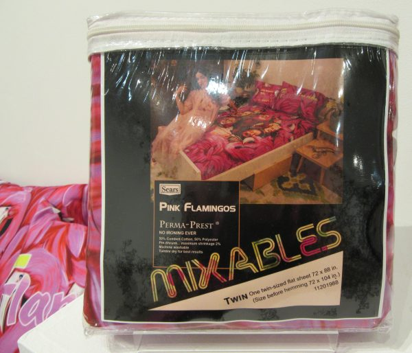 Pink Flamingos Bed Sheets Packaging
